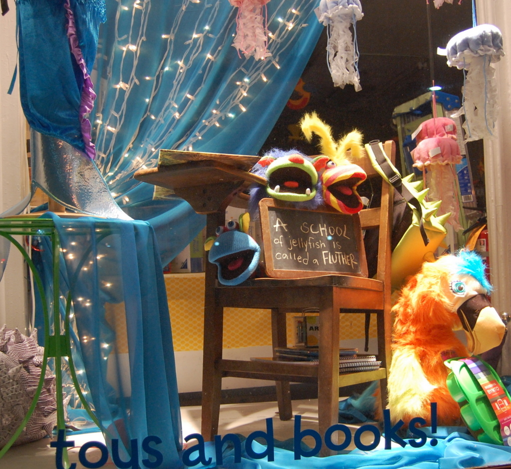 Store Window Displays Pufferbellies Toys Amp Books