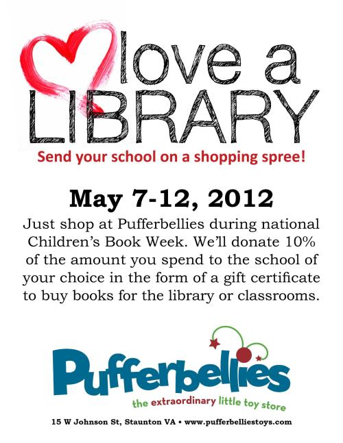 Love a Library 2012