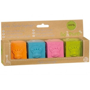 Sophie the Giraffe So'Pure Rubber Block Set