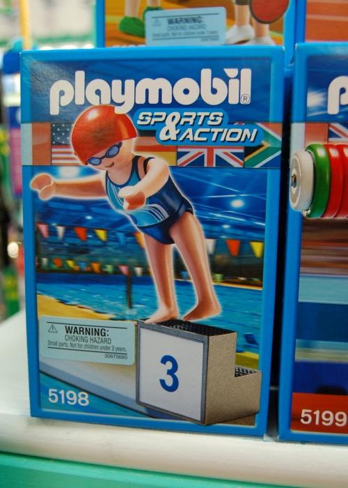 Playmobil swimmer