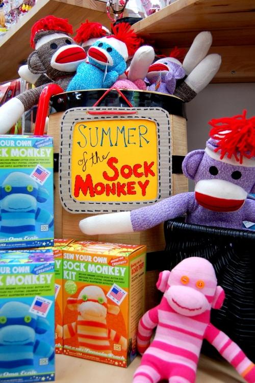 Summer of the Sock Monkey