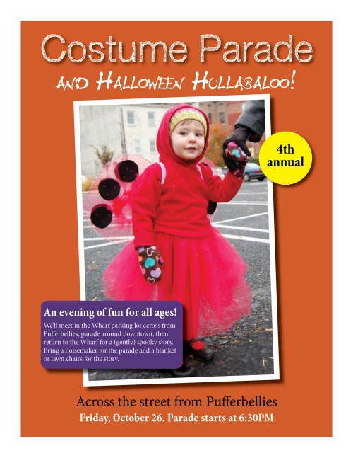 Pufferbellies Costume Parade and Halloween Hullabaloo