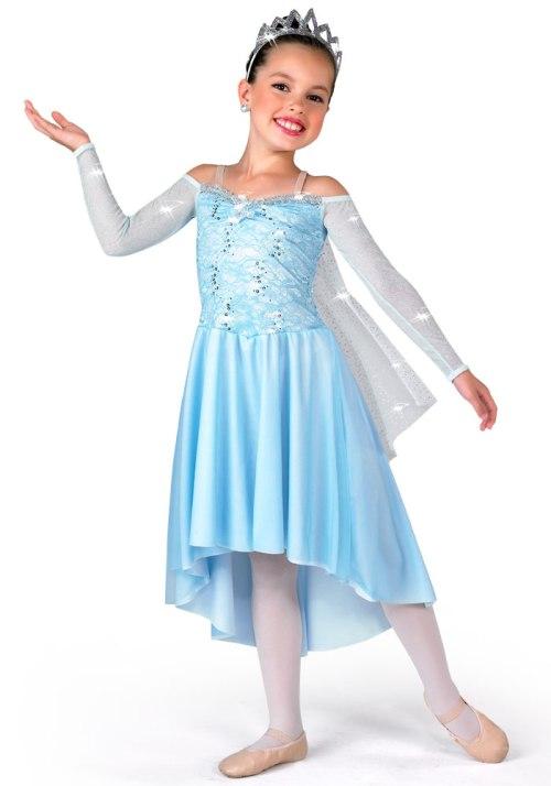 A Wish Come True Elsa dress